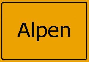 Autoverwertung Alpen